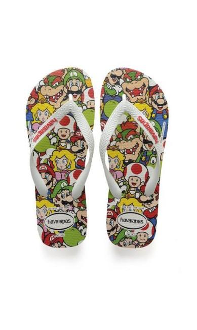 Havaianas Mario Bros (www.havaianas.com.br), R$ 41 Divulgação