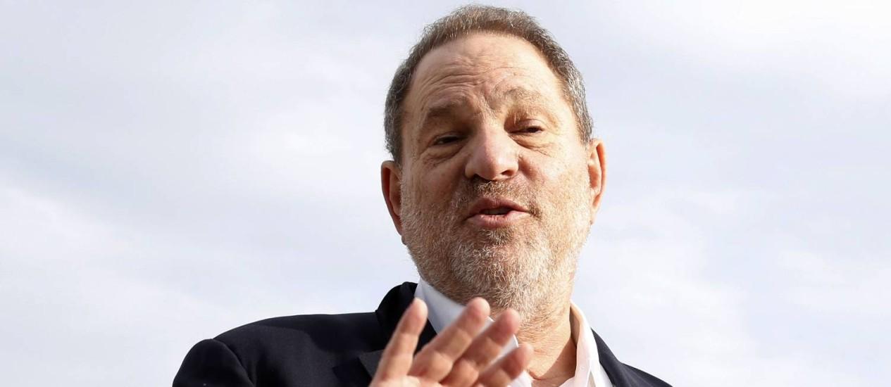 O produtor Harvey Weinstein Foto: VALERY HACHE / AFP