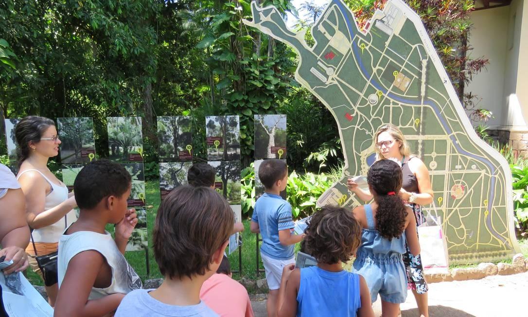 """Dia das Crianças no Jardim Botânico.Para celebrar da data, foi criada uma programação especial, que inclui oficinas, teatro de fantoches (""""Mogli, o menino lobo"""", às 10h) e passeio guiado, às 14h30m em trilha com espécies ameaçadas de extinção, seguido de oficina de origami. Rua Jardim Botânico 1.008, Jardim Botânico — 3874-1808. Qui, das 10h às 17h. R$ 15. Quem for de bicicleta paga meia. Foto: Divulgação"""