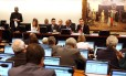 Comissão de Constituição e Justiça (CCJ) analisa denúncia contra o presidente Michel Temer Foto: Givaldo Barbosa / Agência O Globo