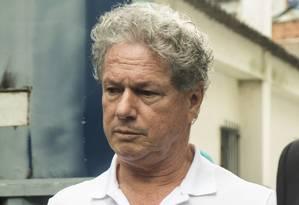 Jacob Barata Filho deixa o presídio de Benfica, no Rio de Janeiro Foto: Ana Branco/Agência O Globo/19-08-2017