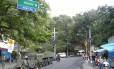 Militares atuam na Rocinha nesta manhã