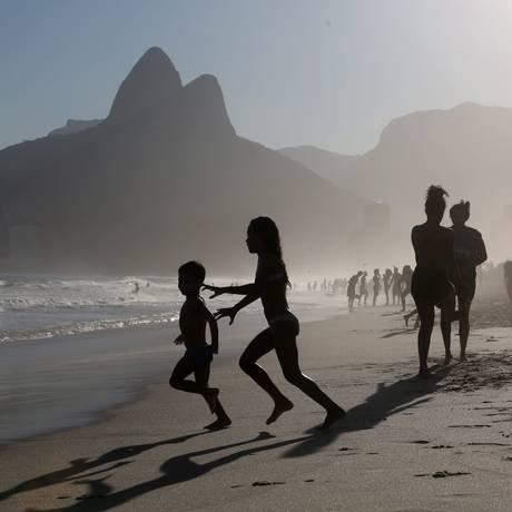 Feriadão com praia: previsão é de sol e calor Foto: Custódio Coimbra em 14/09/2017 / Agência O Globo