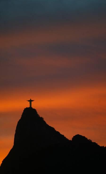 A imagem foi eleita uma das Sete Maravilhas do Mundo, em 2007, pela instituição suíça New 7 Wonders Foundation Foto: Custódio Coimbra em 28/05/2007 / Agência O Globo