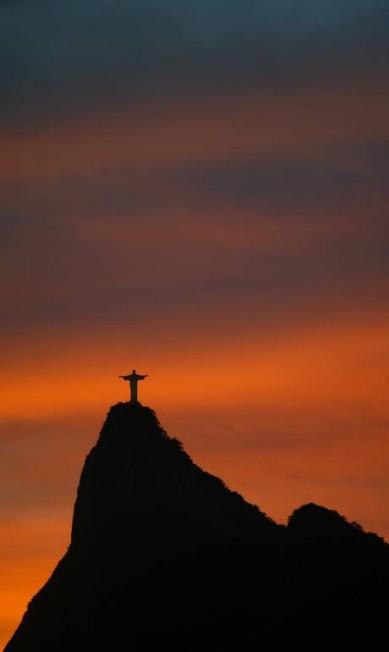A imagem foi eleita uma das Sete Maravilhas do Mundo, em 2007, pela instituição suíça New 7 Wonders Foundation Custódio Coimbra em 28/05/2007 / Agência O Globo