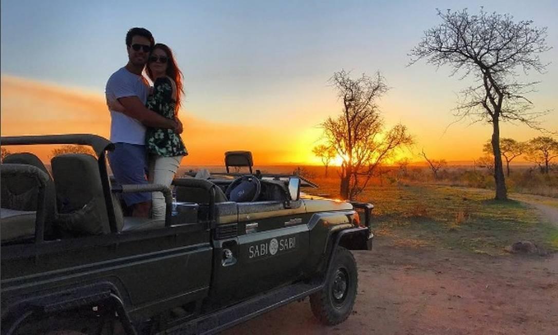 Escolha de Marina Ruy Barbosa para a lua de mel com Xande Negrão, o Sabi Sabi Earth Lodge é um dos destinos mais luxuosos na África do Sul Reprodução/Instagram