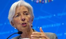 A diretora-gerente do FMI, Christine Lagarde, será uma das líderes do Fórum Foto: Jose Luis Magana / AP