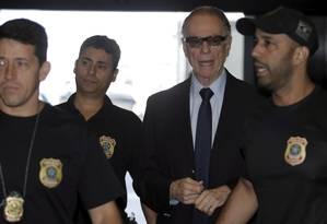Operação Unfair Play prendeu Nuzman há uma semana Foto: Gabriel de Paiva / Agência O Globo