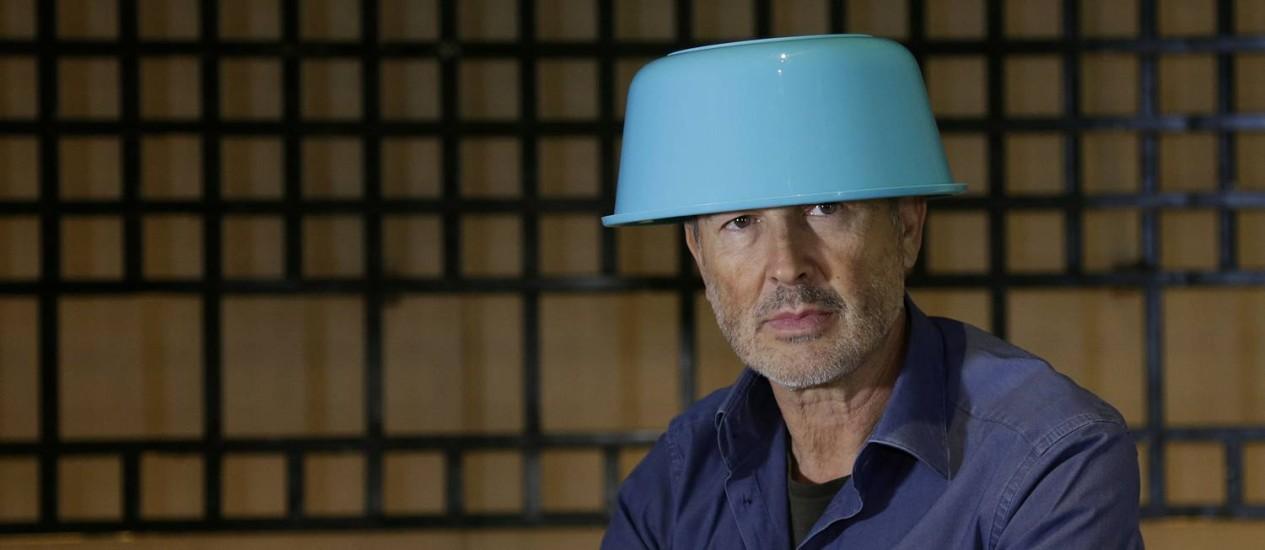 O artista plástico austríaco Erwin Wurm Foto: Gustavo Miranda / Agência O Globo