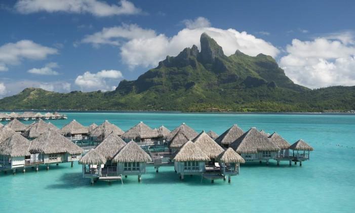 St. Regis Bora Bora Foto: Eric Pinel / Atout France / Divulgação