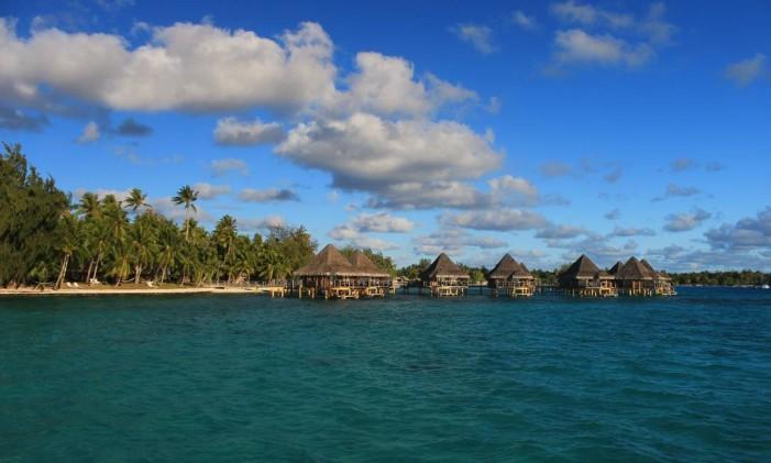 Kia Ora Resort, no atol de Rangiora Foto: Felipe Mortara / Atout France / Divulgação