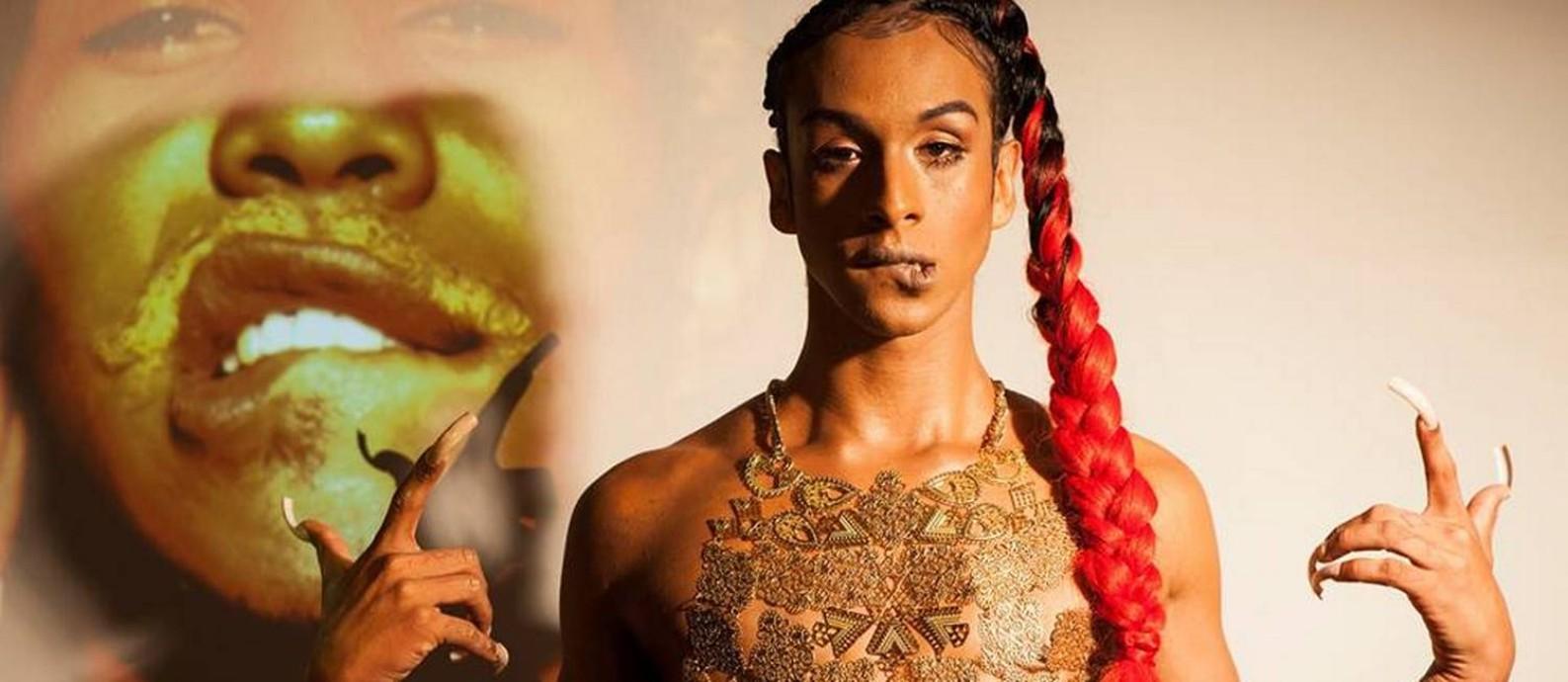 O primeiro disco de Linn chama-se 'Pajubá', uma referência a um tipo de dialeto com expressões oriundas docandomblé, e também utilizado no meio LGBT para garantir proteção Foto: Divulgação