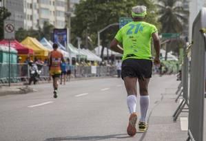 Meia Maratona da Caarf em Copacabana Foto: Analice Paron / Agência O Globo