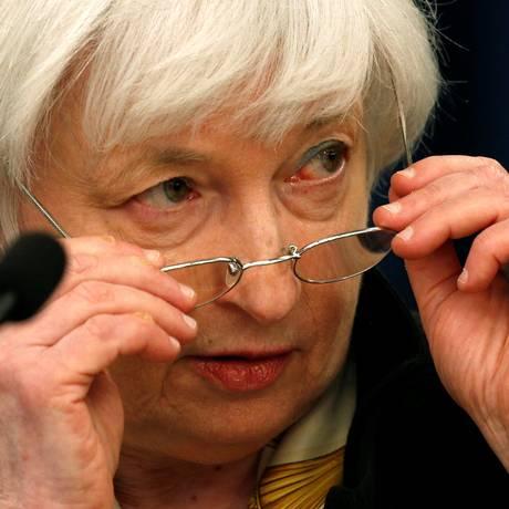 Presidente do FED está otimista em relação à economia americana Foto: Kevin Lamarque / Reuters