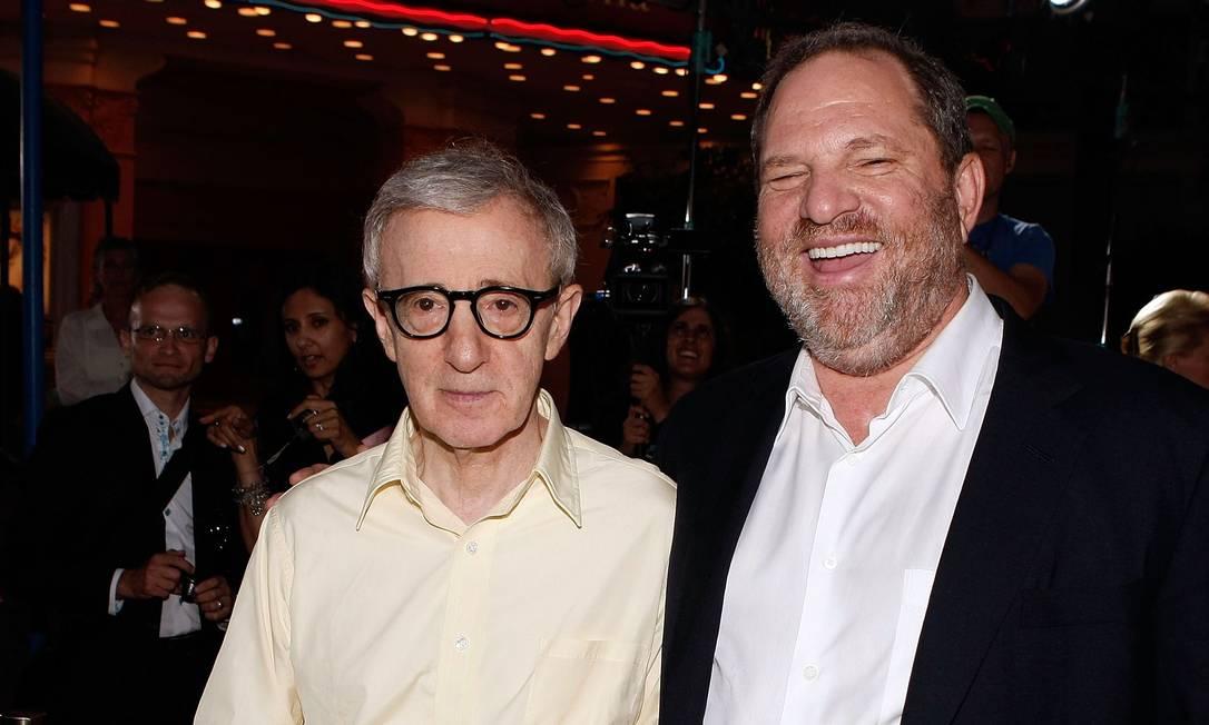 Woody Allen explica comentário polêmico sobre Harvey Weinstein