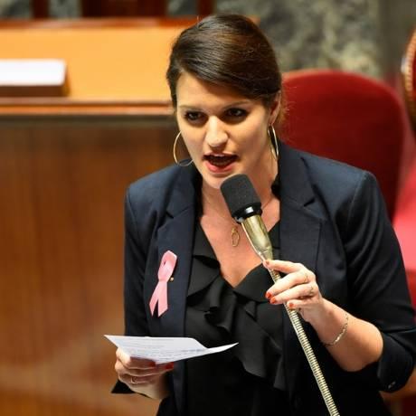 Marlène Schiappa, ministra da Igualdade de Gênero da França Foto: AFP