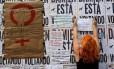 Em 2016, mulheres protestaram na Avenida Paulista contra a violência sexual