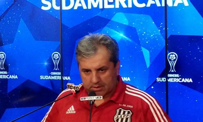 Chapecoense anuncia contratação de Gilson Kleina, ex-Ponte Preta