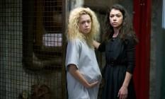 Cena da quinta e última temporada de 'Orphan black', estrelada por Tatiana Maslany Foto: Reprodução