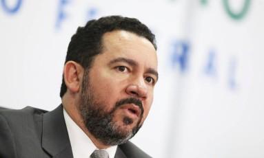 O ministro do Planejamento, Dyogo Oliveira, durante entrevista Foto: Ailton de Freitas/Agência O Globo/22-09-2017