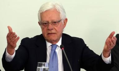 O ministro da Secretaria-Geral da Presidência, Moreira Franco (PMDB-RJ) Foto: Givaldo Barbosa / Agência O Globo