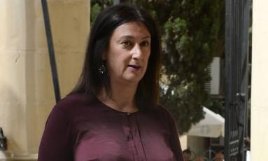 Caruana Galizia investigava corrupção de autoridades de Malta Foto: MATTHEW MIRABELLI / AFP