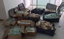 Os R$ 51 milhões escondidos num apartamento em Salvador Foto: Divulgação/PF