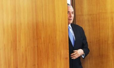 Temer troca número de celular após Câmara divulgar na internet Foto: Ailton de Freitas / Agência O Globo