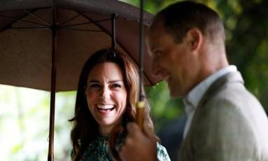 Kate Middleton e Príncipe William Foto: Divulgação/Palácio de Kensington