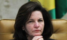 A procuradora-geral da República, Raquel Dodge, durante julgamento no Supremo Tribunal Federal Foto: Ailton de Freitas/Agência O Globo/11-10-2017