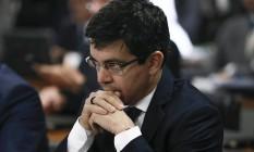 O senador Randolfe Rodrigues (Rede-AP) Foto: André Coelho / Agência O Globo 06/07/2017