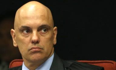O ministro Alexandre de Moraes, do Supremo Tribunal Federal (STF) Foto: Givaldo Barbosa/Agência O Globo