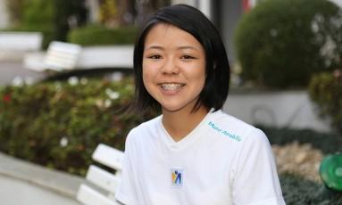 Miriam Harumi Koga competiu com outros 50 estudantes, de 11 países Foto: Divulgação