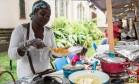 A cozinheira nigeriana Lateefat Foto: Reprodução