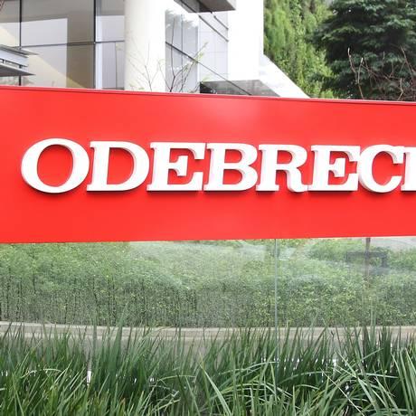 Sede da Odebrecht em São Paulo Foto: Michel Filho/Agência O Globo/19-06-2015