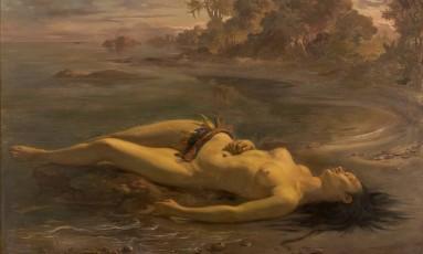 """""""Moema"""" (1866), de Victor Meirelles, que faz parte do acervo do Masp Foto: Divulgação"""