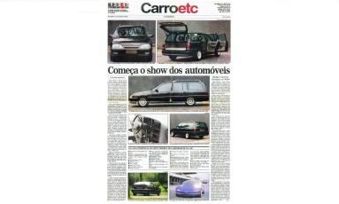 O destaque da edição era a Chevrolet Suprema, que custava o equivalente a US$ 38 mil Foto: Reprodução