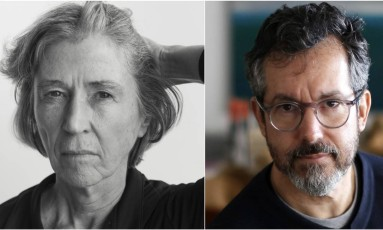 Elvira Vigna e Bernardo Carvalho, finalistas do Prêmio Oceanos Foto: Infoglobo