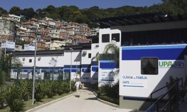 Efeito. As unidades de saúde na Rocinha, que fecharam quatro vezes desde 17 de setembro por causa de confrontos Foto: Márcia Foletto / Márcia Foletto/8-3-2010