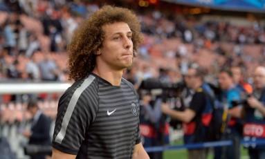 David Luiz trocou o Chelsea pelo PSG em 2014 Foto: MIGUEL MEDINA / AFP