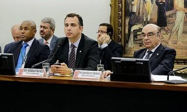 Comissão na Câmara analisa denúncia contra Temer Foto: Agência Câmara