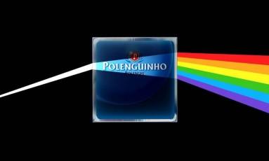Homenagem do Polenguinho a banda Pink Floyd Foto: Reprodução