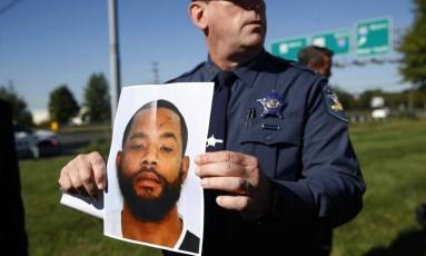 Homem suspeito de ataques em Maryland Foto: AP
