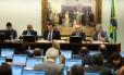 Comissão de Constituição e Justiça discute parecer sobre denúncia contra Temer Foto: Jorge William / Agência O Globo