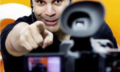 Marco Laurindo - professor de literatura do curso QG do Enem Foto: Gustavo Miranda