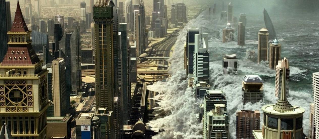 Cena do filme 'Tempestade: planeta em fúria' Foto: Divulgação