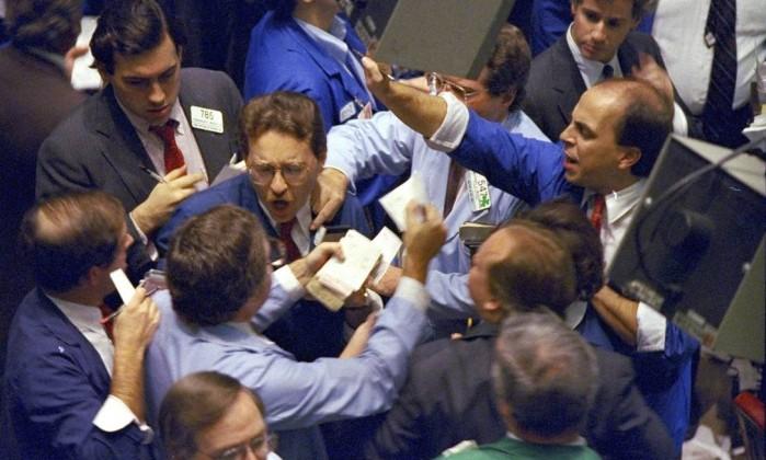 Queda forte das bolsas pode significar o fim da euforia nos mercados