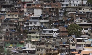 Comunidade do Vidigal. Imagem de 17/10/2017 Foto: Márcia Foletto / Agência O Globo