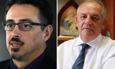 O ministro da Cultura Sérgio Sá Leitão e o deputado Givaldo Carimbão (PHS-AL) Foto: Divulgação
