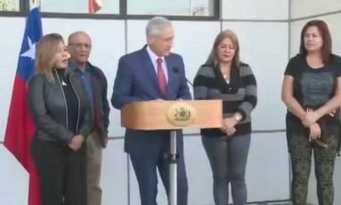Chanceler chileno recebe quatro juízes venezuelanos que pediram aislo Foto: Reprodução/LaTercera